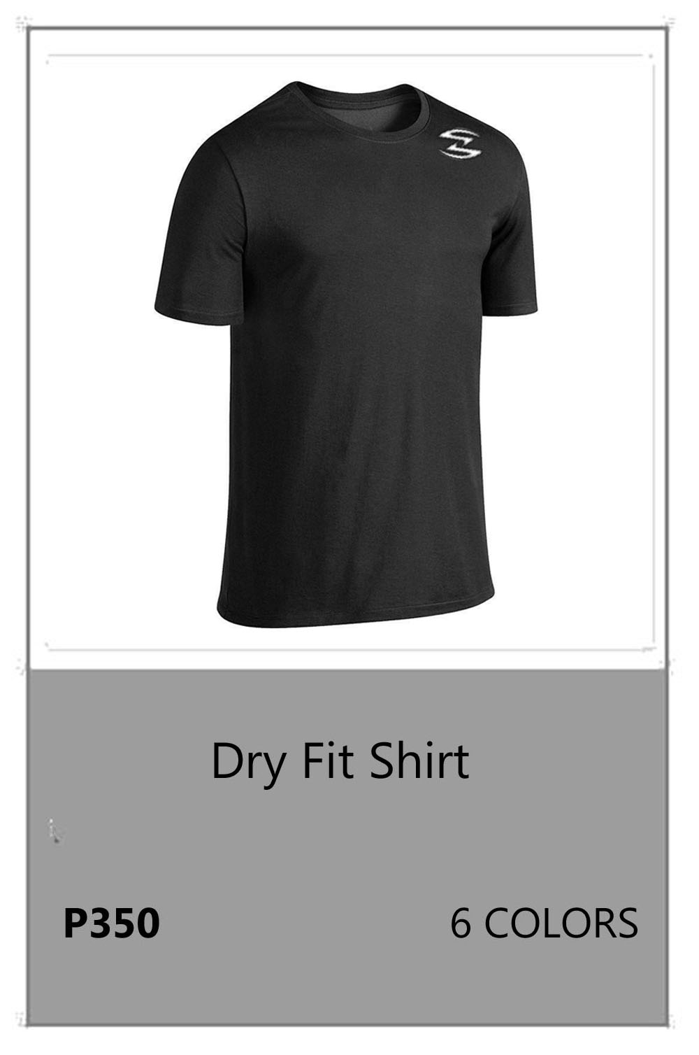 Dry Fit Blk