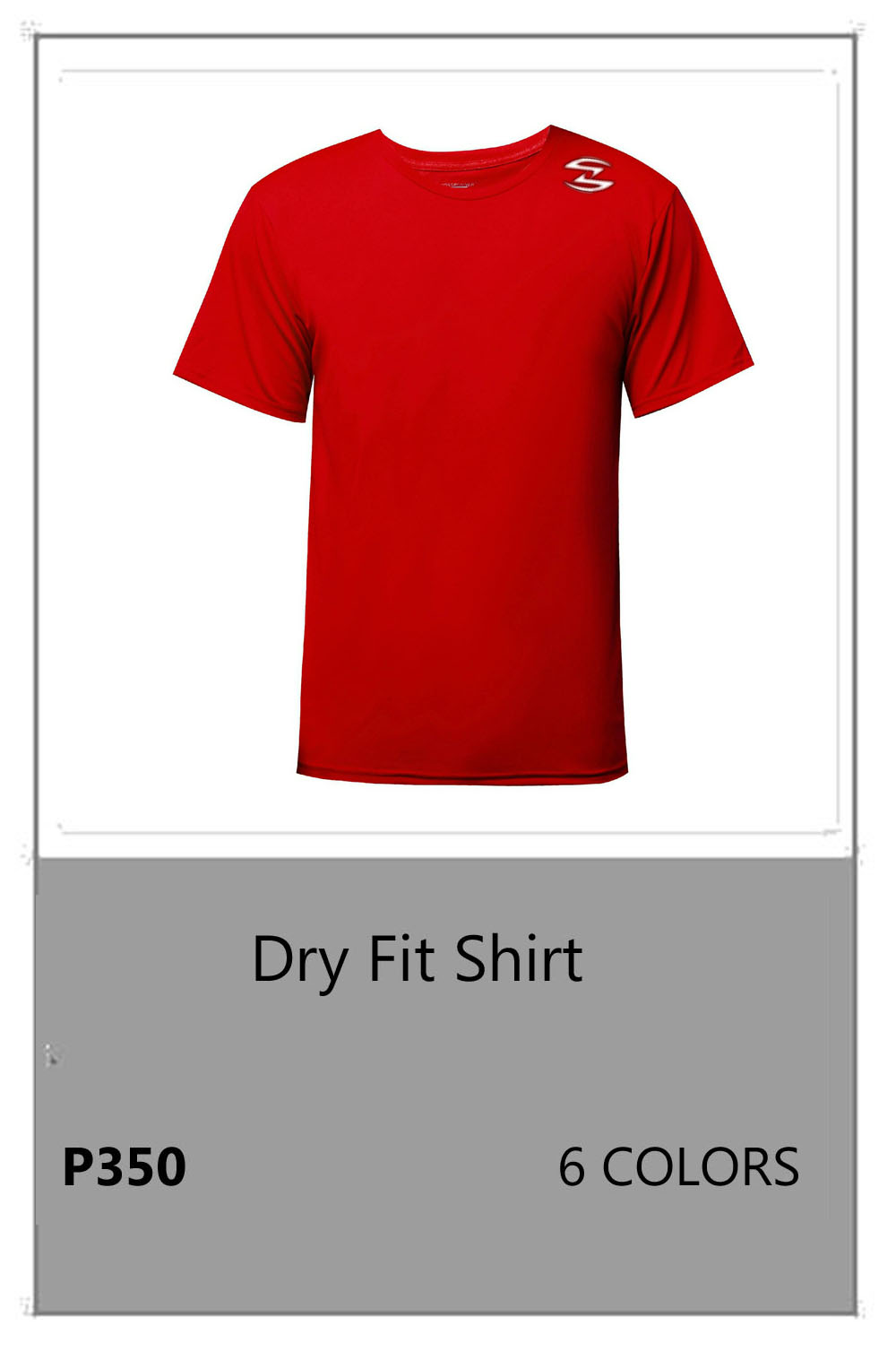 Dry Fit Red