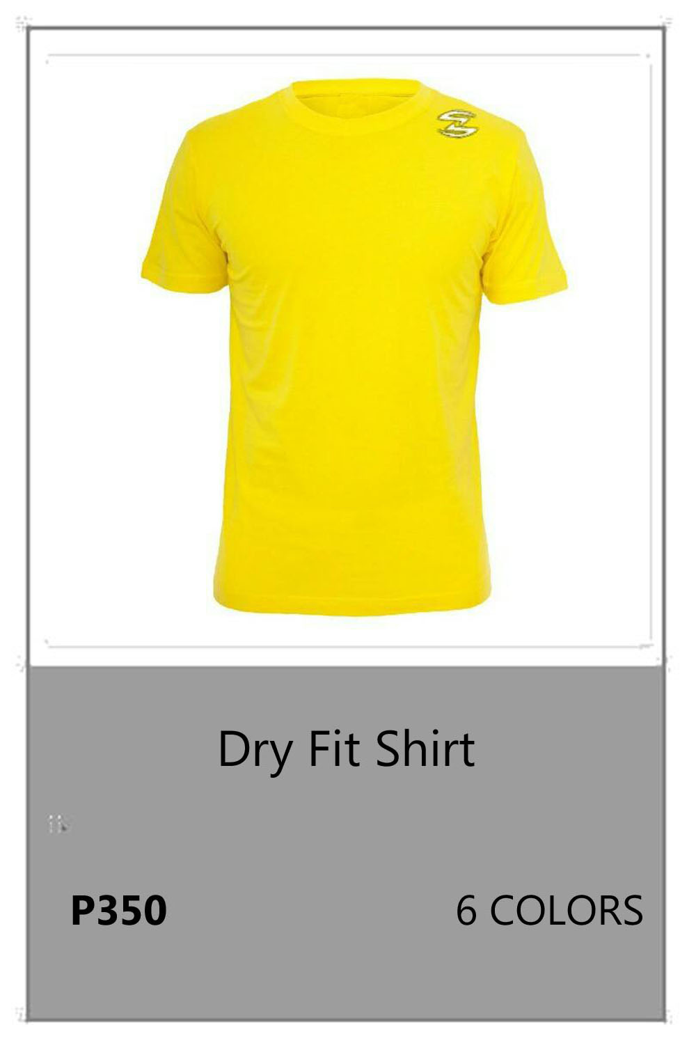 Dry Fit Yellow