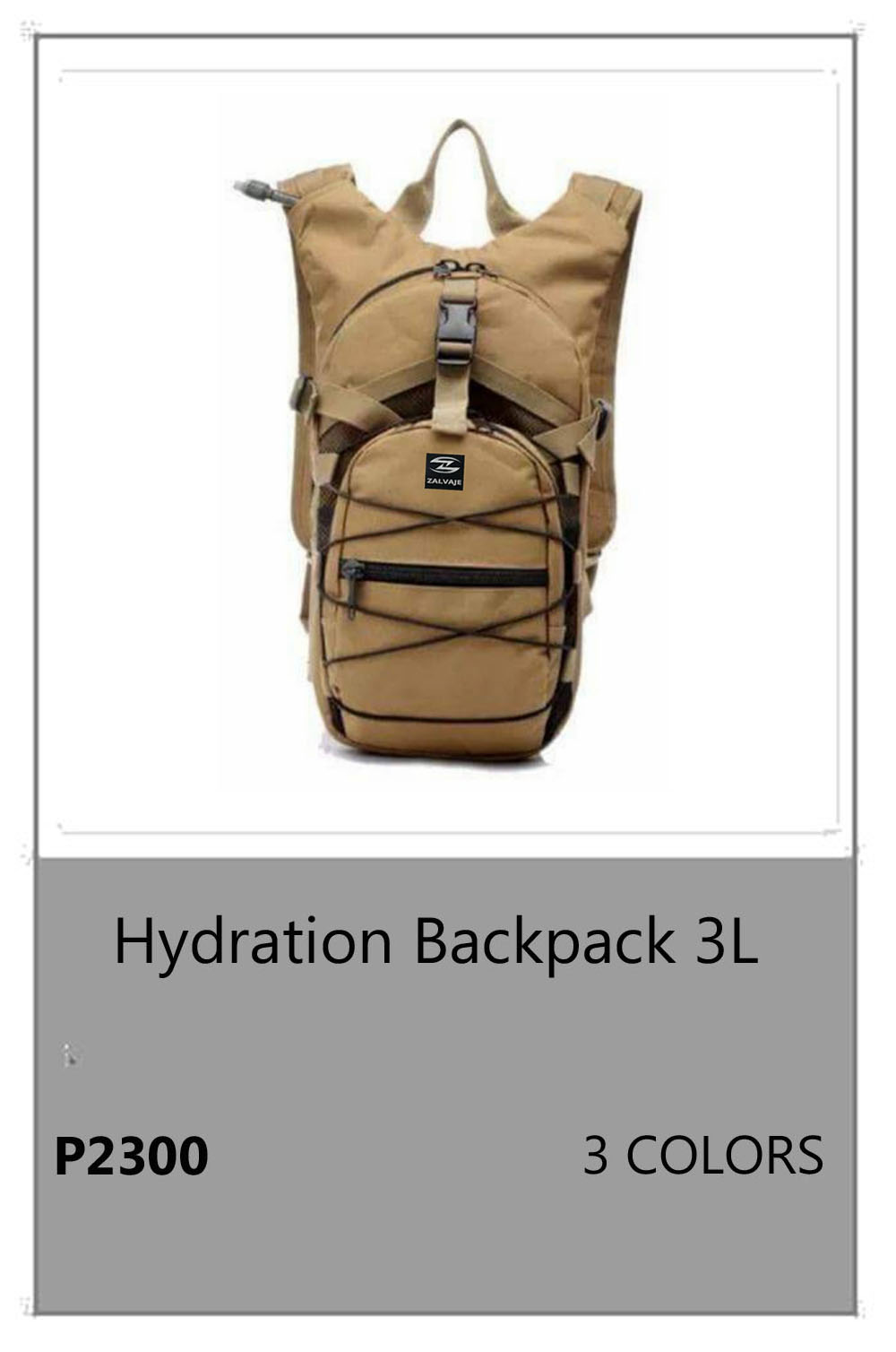 Hydration BackPack 3L